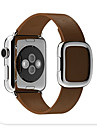 Bande de Montre pour Apple Watch bracelet moderne sangle de rechange en cuir veritable