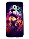 For Samsung Galaxy Case Pattern Case Back Cover Case Animal PC Samsung S6