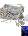 JIAWEN® 2 M 192 Dip LED Varmt vit / Vit / RGB / Blå Kopplingsbar 8 W Ljusslingor AC220 V