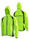 Bike/Cycling Windbreakers / Jacket Unisex Long Sleeve Waterproof / Rain-Proof Terylene Patchwork Yellow / Green / BlueS / M / L / XL /