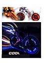 Sykkellykter , Andre - 4 eller mer Modus 90 Lumens Farger skiftende AG10 x 3 Batteri Sykling/Sykkel / Kjoering / motocycle Gjennomsiktig