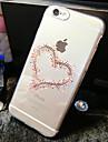 용 아이폰6케이스 / 아이폰6플러스 케이스 투명 / 패턴 케이스 뒷면 커버 케이스 심장 소프트 TPU iPhone 6s Plus/6 Plus / iPhone 6s/6