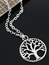 Necklace Pendant Necklaces / Chain Necklaces / Vintage Necklaces Jewelry Party / Daily / Casual Fashion Alloy Silver 1pc Gift