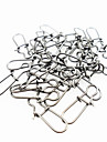 50 pcs Other Tools Fishing Snaps & Swivels g/Ounce mm inch,Metal General Fishing