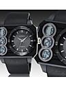 Herre / Dame / Unisex Armbåndsur Digital LED / Kalender / Kronograf / Vandafvisende Gummi Band Sort Brand- OHSEN
