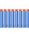 100 piezas de juguete pistola de bala NERF N-Pegan pistolas de la serie de mega centurion recarga clip de dardos de bala nerf suave