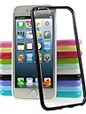 New Transparent PC+TPU Soft Bumper for iPhone 5/5S(Assorted Color)