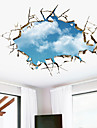 3D Wall Stickers Wall Decals, The Sky PVC Wall Stickers