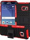 For Samsung Galaxy Case Shockproof / with Stand Case Back Cover Case Armor PC Samsung S6 edge plus / S6 edge / S6 / S5 / S4