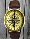 Vintage Compass Watch, Leather Watch,Women\'s Watch,Men's Watch,Gift for Her,Gift Idea,Custom Watch,Fashion Accessory Cool Watches Unique Watches