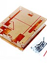 Case Enclosure Transparent Acrylic Box Clear Cover for Arduino Uno R3 Board R3