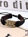 Dagelijks / Causaal / Sport - Wrap Bracelets ( Legering / Leder , Zoals Op De Afbeelding )
