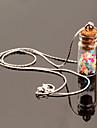 HUALUO®Wishing Bottle Colorful Fashion Pendant Necklace