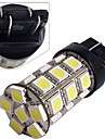 2*Car 7443 7440 T20 Tail Brake Bulb Lamp 5050SMD White 27 LED Light 12V 2.5W 250LM