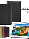 10.1 inch triple vouwpatroon hoge kwaliteit pu leer voor asus zenPad 10 (z300c) (verschillende kleuren)