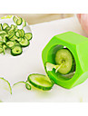 1 Pcas. Cutter & Slicer For para Vegetable Plastico Creative Kitchen Gadget / Ecologico / Alta qualidade