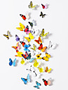 Animals Wall Stickers 3D Wall Stickers Decorative Wall Stickers,Paper Material Removable Home Decoration Wall Decal