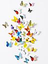 Животные Наклейки 3D наклейки Декоративные наклейки на стены,Бумага материал Съемная Украшение дома Наклейка на стену