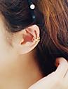 여성 클립 귀걸이 의상 보석 합금 Star Shape 보석류 제품 결혼식 파티 일상 캐쥬얼