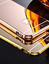 metallic plating bakdekselet for iphone 5s / 5