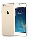 tpu ultra gjennomsiktig myk sak for iPhone 6 / 6s pluss