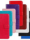 Pour Coque Nokia Portefeuille Porte Carte Avec Support Coque Coque Integrale Coque Couleur Pleine Dur Cuir PU pour NokiaNokia Lumia 930