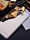 Pour Samsung Galaxy Coque Plaqué Miroir Coque Coque Arrière Coque Couleur Pleine Polycarbonate pour Samsung A8 A7 A5 A3