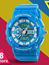 Unisex Fresh Color Analog-Digital Sports Watch Fashion Sporty Wristwatch