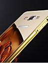 Pour Samsung Galaxy Coque Plaque Miroir Coque Coque Arriere Coque Couleur Pleine Polycarbonate pour SamsungA7(2016) A5(2016) A3(2016) A8