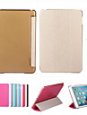 smart etui en cuir de couverture + pc translucides arriere pour Apple iPad 2 air cadeau Film de protection + tactile stylo + gratuitement
