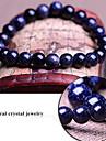синий звездное небо природные подлинные кристаллические камни тибетский бисером прядь браслет, ювелирные изделия унисекс