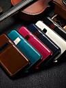 용 아이폰6케이스 / 아이폰6플러스 케이스 카드 홀더 케이스 파우치 백 케이스 단색 하드 인조 가죽 iPhone 6s Plus/6 Plus / iPhone 6s/6