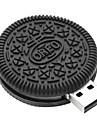 zpk38 unidade de memoria USB 32gb pequena biscoitos de chocolate 2.0 Flash u vara