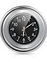 """moto velo 7/8 """"1 guidon monture noire montre cadran d\'horloge pour yamaha harley"""