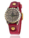 Xu™ Women\'s Vintage Leather Star Quartz Watch Strap Watch