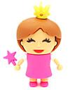 zpk30 16gb unidade de memoria pequena princesa dos desenhos animados USB 2.0 Flash u vara