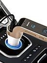 автомобиля Bluetooth FM передатчик с TF / USB флэш-диски музыкальный плеер SD и USB функции зарядного устройства