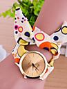 Женские Модные часы Часы-браслет Кварцевый Материал Группа Разноцветный