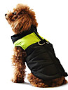 Dog Coat / Vest Blue / Pink / Gray Winter / Spring/Fall Classic / Color Block Waterproof