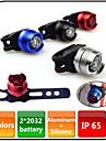 Diamond Rear Bike Light / Safety Lights - 3 Mode 80 Lumens Waterproof CR2032 Battery Cycling Warning Light