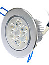 YouOKLight® 1PCS 7W Dimmable 3000K/6000K 700lm Warm White/Cool White  LED Ceiling Light Lamp (AC110-120/220-240V)