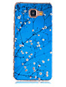 For Samsung Galaxy Case Pattern Case Back Cover Case Flower TPU Samsung A5(2016) / A3(2016)