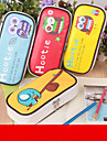 Bolsas de Papelaria-Vermelho / Azul / Amarelo- de Pele PU-Fofinho / Negocio / Multifuncional