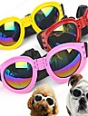 Dog Sunglasses Red / Black / White / Pink / Yellow Spring/Fall Waterproof