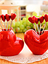 style amour createur collation fourchette fruit fourchette ornement decoration 5 fourches