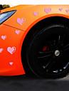 reflexivas carro amor personalidade romanticas adesivos (15pcs / set)