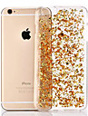 For iPhone 8 iPhone 8 Plus iPhone 6 iPhone 6 Plus Case Cover Transparent Back Cover Case Glitter Shine Soft TPU for iPhone 8 Plus iPhone