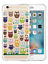 For iPhone 6 Case / iPhone 6 Plus Case Shockproof / Transparent / Pattern Case Back Cover Case Cartoon Soft SiliconeiPhone 6s Plus/6 Plus