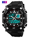 SKMEI Men's Digital Silicone Band 30m Water-resisstant Multi-Functional Sports Watch Cool Watch Unique Watch
