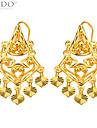 Luxury Lovely Heart Shape Drop Earrings Bridal Gift For Women 18K Gold Plated Fashion Jewelry E10133